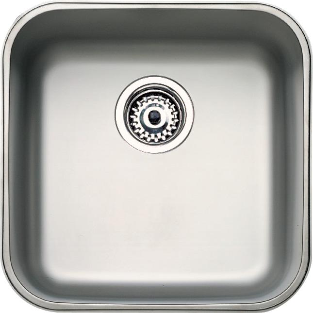Teka be fregadero una cubeta acero inox 50 cm for Lavabo profundo