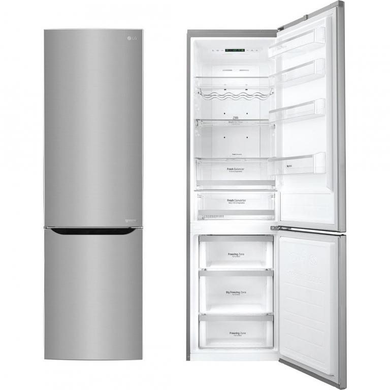 lg gbb60pzgfs frigor fico combi 200x60 acero inox a