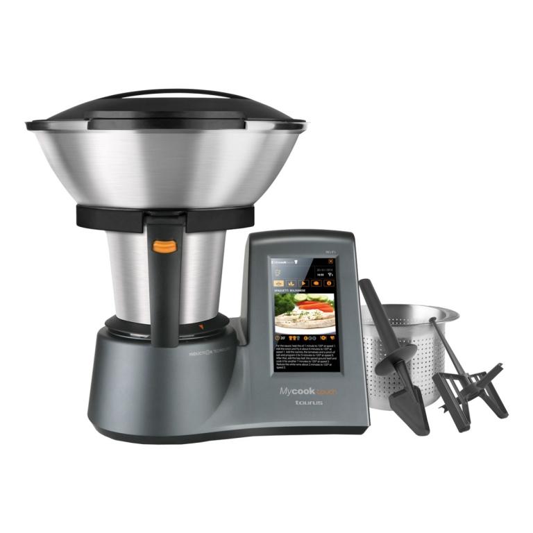 Taurus my cook touch robot de cocina t ctil wifi - Robot de cocina cocichef ...