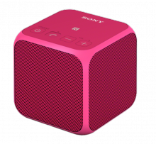 Sony SRSX11P. Altavoz inalámbrico Bluetooth rosa